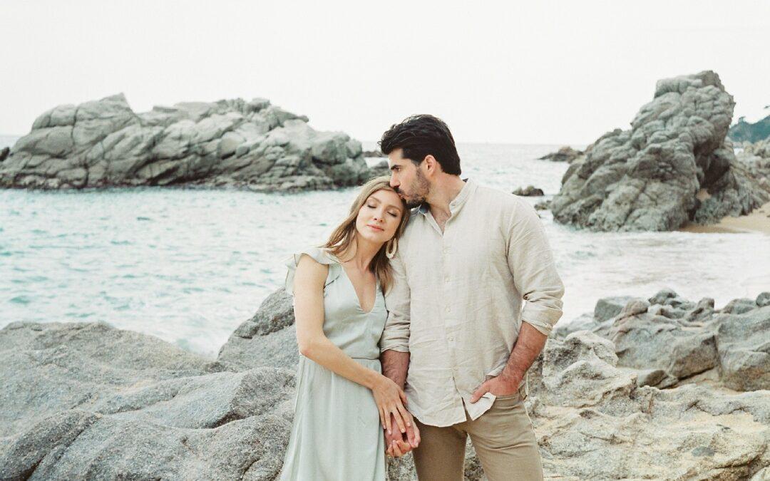 A little bit of love on the beach